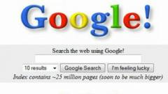 early-google-page