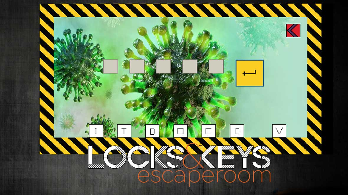 escaperoom lockkeys