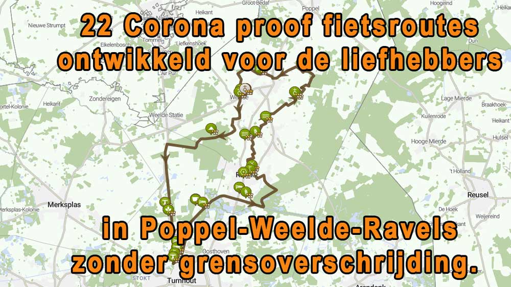 fietsroutes corona proof