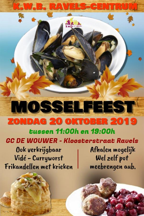 KWB MOSSELFEEST 2019 Ravels-Centrum.