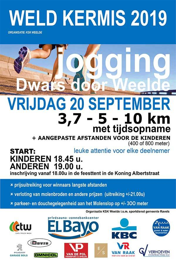 Jogging Dwars door Weelde