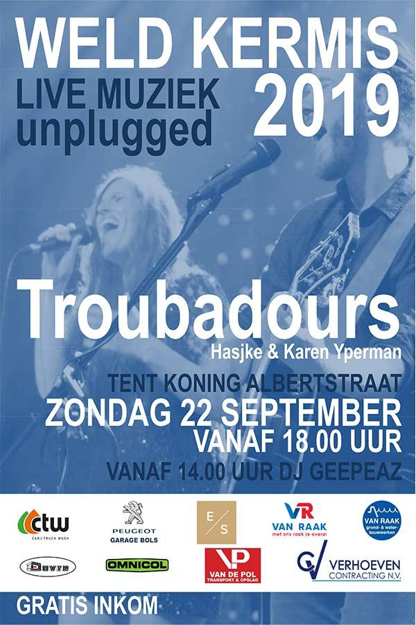 Weld Kermis unplugged : Troubadours