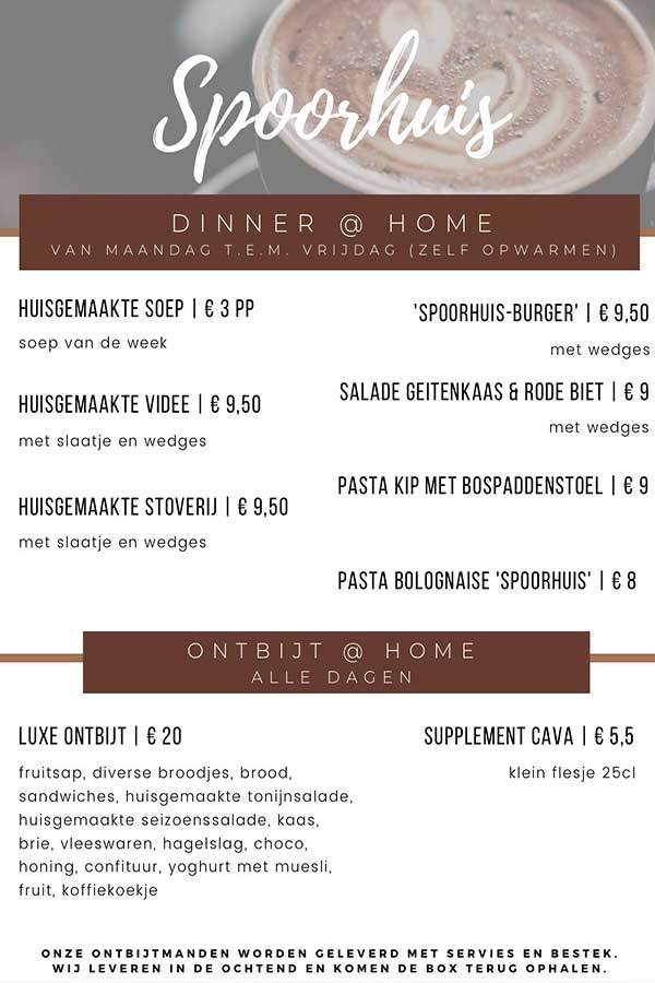 Take-away Spoorhuis