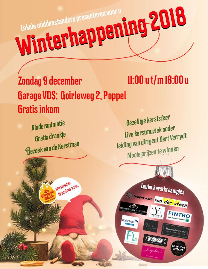 Winterhappening 2018 in Poppel